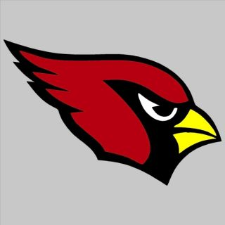 "Arizona Cardinals Script 2 Color 17"" Auto Car Truck Window Sticker Decals"