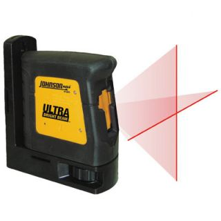 JohnsonLevelandTool Hi Powered Cross Line Self Leveling Laser