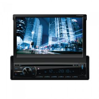 "New Audiotek at 8900BT 7"" Single DIN Indash DVD Receiver Bluetooth Front USB"