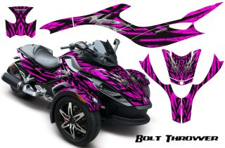 Can Am BRP Spyder Graphics Kit Decals Bolt Thrower BTPB