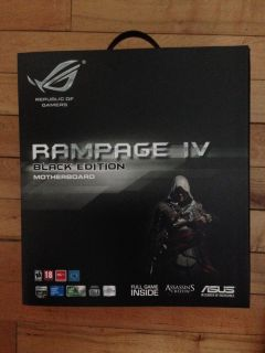 Asus Rampage IV Black Edition LGA 2011 Intel X79 Assassin's Creed 4 New 0610839184972