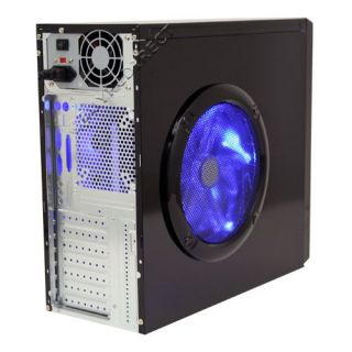 New 939 Black ATX Computer Case w 550 Watt Power Supply