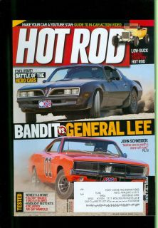 2011 Hot Rod Magazine Pontiac Bandit vs General Lee Cross Country Hot Rod