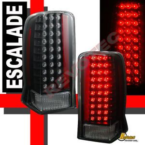 Cadillac Escalade LED Tail Lights Lamps ESV Black
