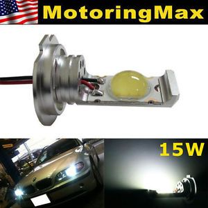 Super Xenon White 15W High Power H7 LED Bulbs Upgrade for Headlights Fog Lamps