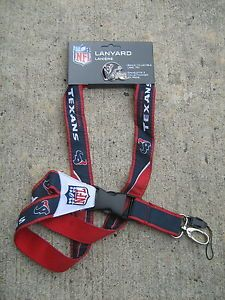 NFL Houston Texans JF Sports Lanyard Helmet Pin