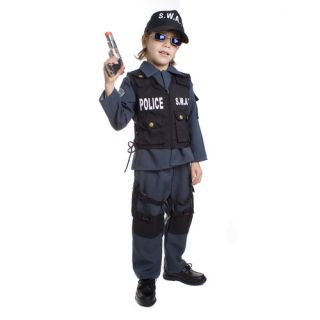 Dress Up America S.W.A.T Police Officer Childrens Costume
