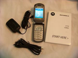 Motorola V710 CDMA Verizon Cell Phone No Contract Unlocked