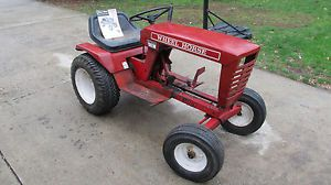 1968 Wheel Horse Raider 10 Lawn Garden Tractor for Parts or Restoration