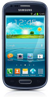 Samsung Galaxy S3 Mini GT I8190 Blue Unlocked GSM Mobile Phone Android 4 1 New 817689010752