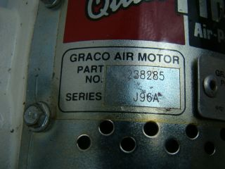 Graco 900PSI Output Fire Ball Air Powered Pump 204254