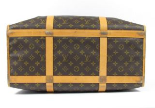 Louis Vuitton LV Monogram Canvas Pet Dog Cat Carrier Tote Bag 50 cm Needs Repair