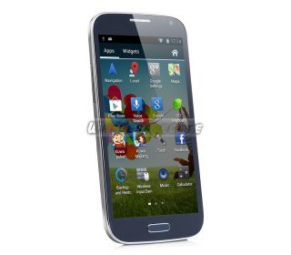 "5 0"" Capacitive Android 4 2 2 Unlocked Dual Sim WiFi GPS Cell Phone T Mobile New"