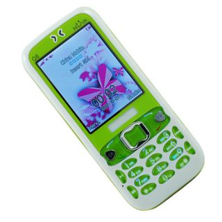 Unlocked Quad Band Dual Sim Analog TV GSM Cheap LED Cell Phone T Mobile at T New