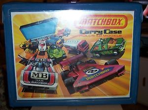 Matchbox Vintage 1976 Carry Case Holds 48 Cars