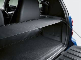 Smart Fortwo Luggage Compartment Cover