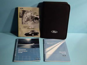 03 2003 Ford Taurus Owners Manual