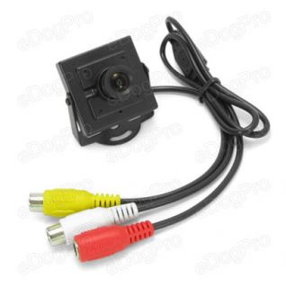 Mini Sony CCD Color Camera with Audio 3 6 mm Lens Wired