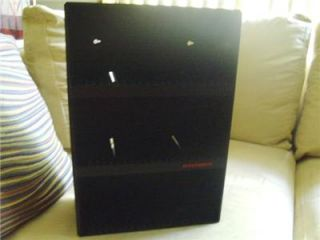Laserline Black 60 CD Storage Media Case Rack Holder