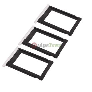 3 × Brand New Sim Card Tray Holder for Apple iPhone 3G 3GS White