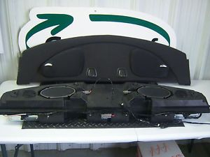Ford Mustang Cobra SVT Mach Radio Amplifiers Subwoofer 2004 Amps 04 Speakers 460