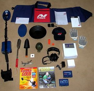 Minelab Eureka Gold Metal Detector Military Additional Bonus