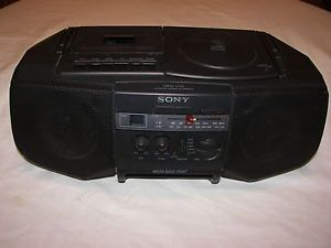 Sony Boombox CFD V10 CD Radio Cassette Player