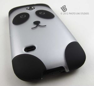 Cute Cartoon Panda Bear Hard Case Cover Huawei Ascend 2 II Tmobile Prism Phone