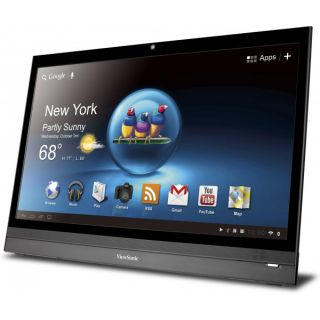 "Viewsonic VSD220 22"" Full HD 1080p LED Touchscreen Smart Display Android 4 0"