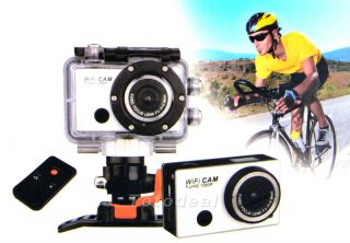 5 0MP 1080p WiFi Waterproof Sport Action Camera Helmet Head Camcorder Mini DV