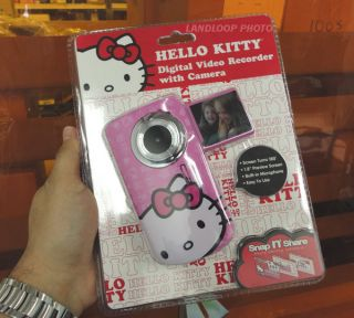 Deluxe Hello Kitty Pink Digital Video Camcorder Camera