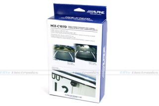 New Alpine HCE C107D Reverse Rear View Camera Car Kit
