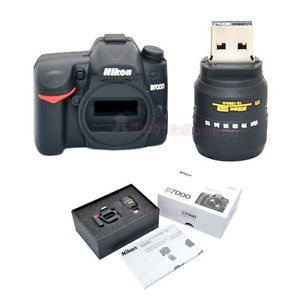 4GB Memory Stick USB Flash Drive Miniature Figurine Nikon D7000 18 105mm Sharp