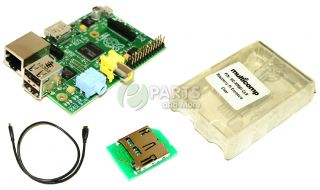 New Raspberry Pi 512MB USB SD HDMI Audio Port Single Board Mini Computer w Case
