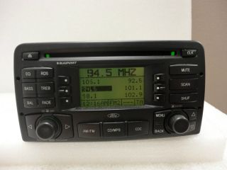 03 04 Ford Focus Radio Stereo CD Player  Blaupunkt