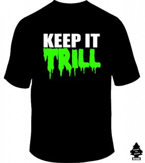 Keep It Trill Bun B UGK Pimp C True Clothing Real Hip Hop DJ Club Rap T Shirt