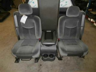 Sierra Silverado Grey Cloth Front Seats Center Console