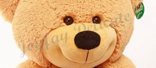 Details about GIANT HUGE FAT 63 BROWN TEDDY BEAR STUFFED PLUSH TOY
