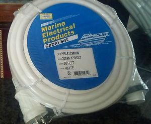 Marine Electrical Products Cable Set   HBL61CM08W   Shore Power Cord