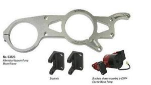 about Moroso Alternator and Vacuum Pump Mounting Bracket Kit 63823