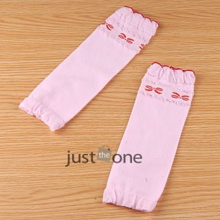 Cute Baby Toddler Girls Boys Arm Knee Elbow Leg Warmer Socks Ruffles Protector