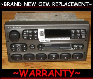 1998 03 Ford Cassette Tape Player Radio Explorer Ranger