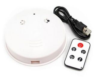 Smoke Detector Model Spy Camera DVR Surveillance Hidden DVR Motion Detection New