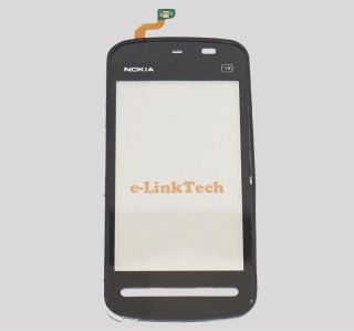 Nokia 5230 Black Digitizer Lens Touch Screen Glass Pad