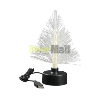 Plastic Multi Color Changing LED Christmas Trees USB Battery Powered New