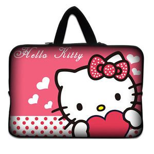 "Girl 10"" Laptop Sleeve Bag Case Handle for 10 6"" Microsoft Surface RT Pro iPad"