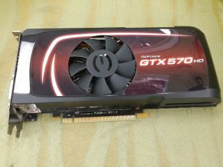 EVGA NVIDIA GeForce GTX 570 HD Graphics Card