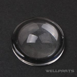 1 PC High Power LED 18mm Convex Lens Optical Glass LED Lens