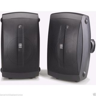 Yamaha NS AW150 Indoor Outdoor Speakers Black Save