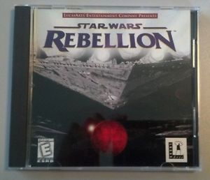 Star Wars Rebellion Authenitic Lucas Arts PC CD ROM Computer Game